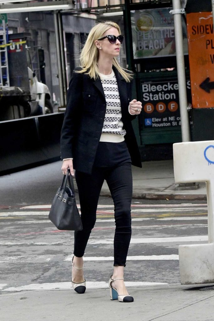 Nicky Hilton in a Black Blazer