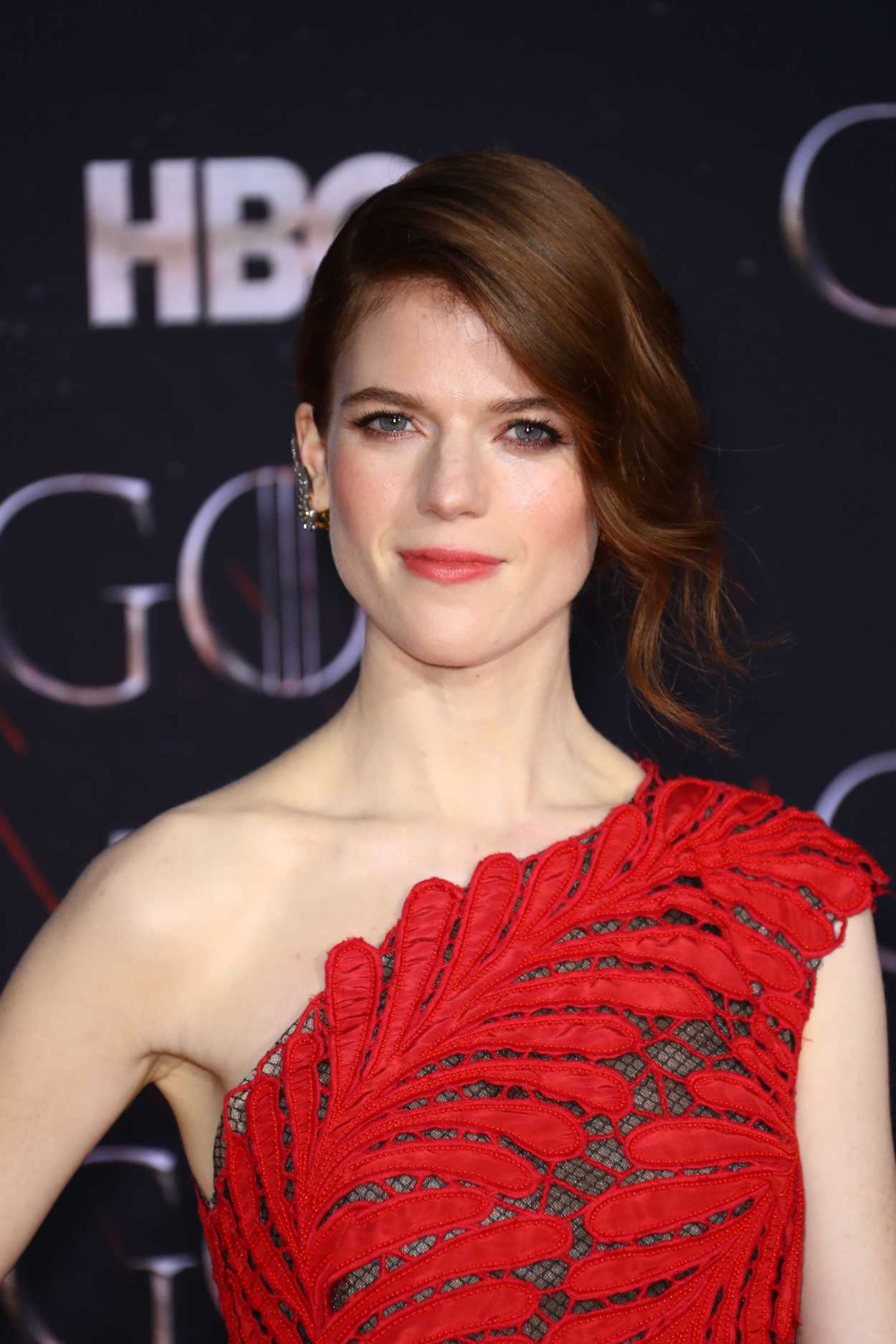 Rose Leslie Attends the Game of Thrones Season 8 Premiere