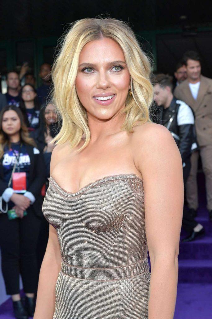 Scarlett Johansson Attends Avengers: Endgame Premiere in ...