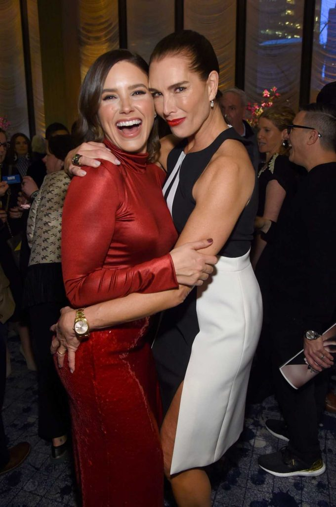 Sophia Bush Attends The Hollywood Reporter S 9th Annual