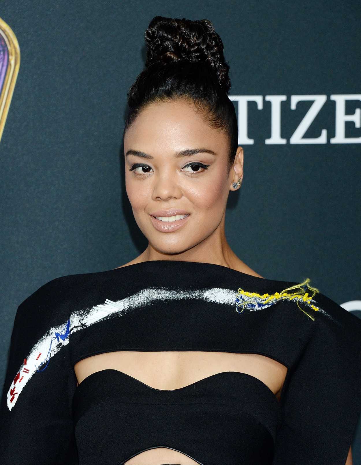Tessa Thompson Attends... Zoe Saldana