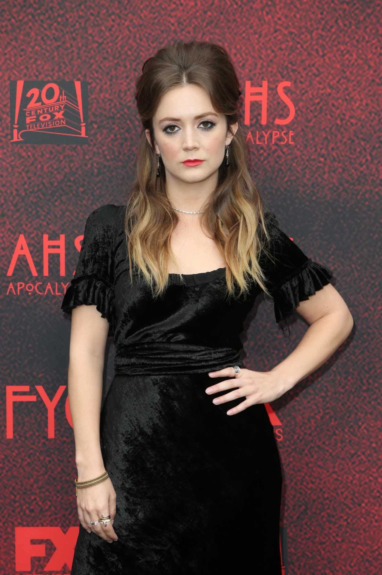 Billie Lourd Attends the American Horror Story: Apocalypse ...