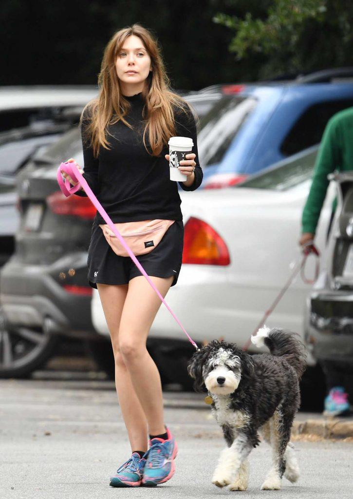 Elizabeth Olsen in a Black Turtleneck
