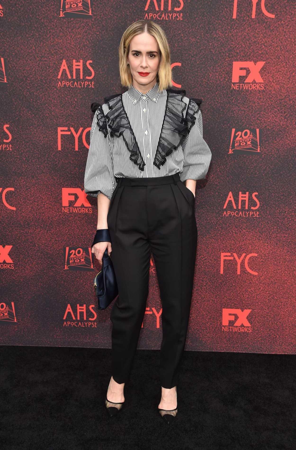 American Horror Story Apocalypse Premiere: Sarah Paulson