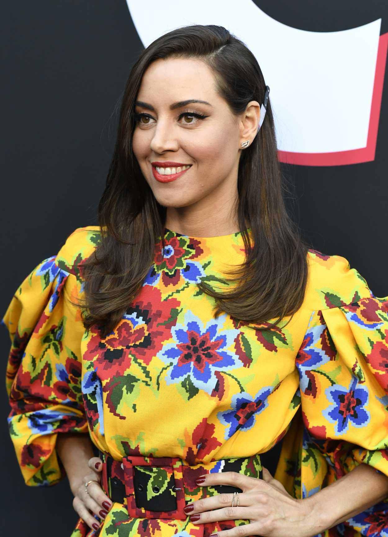 Aubrey Plaza Attends The Play Premiere