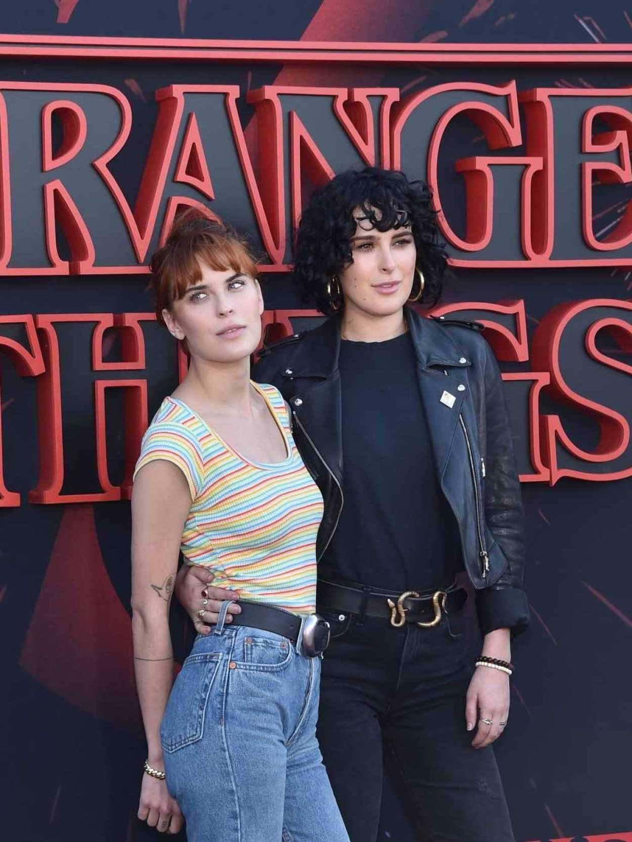 Tallulah Willis Attends the Stranger Things Season 3