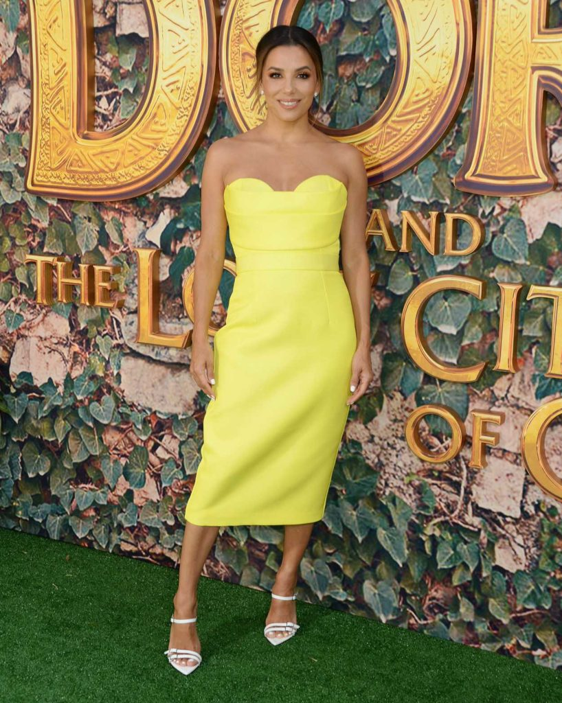 Eva Longoria Attends Dora and the Lost City of Gold