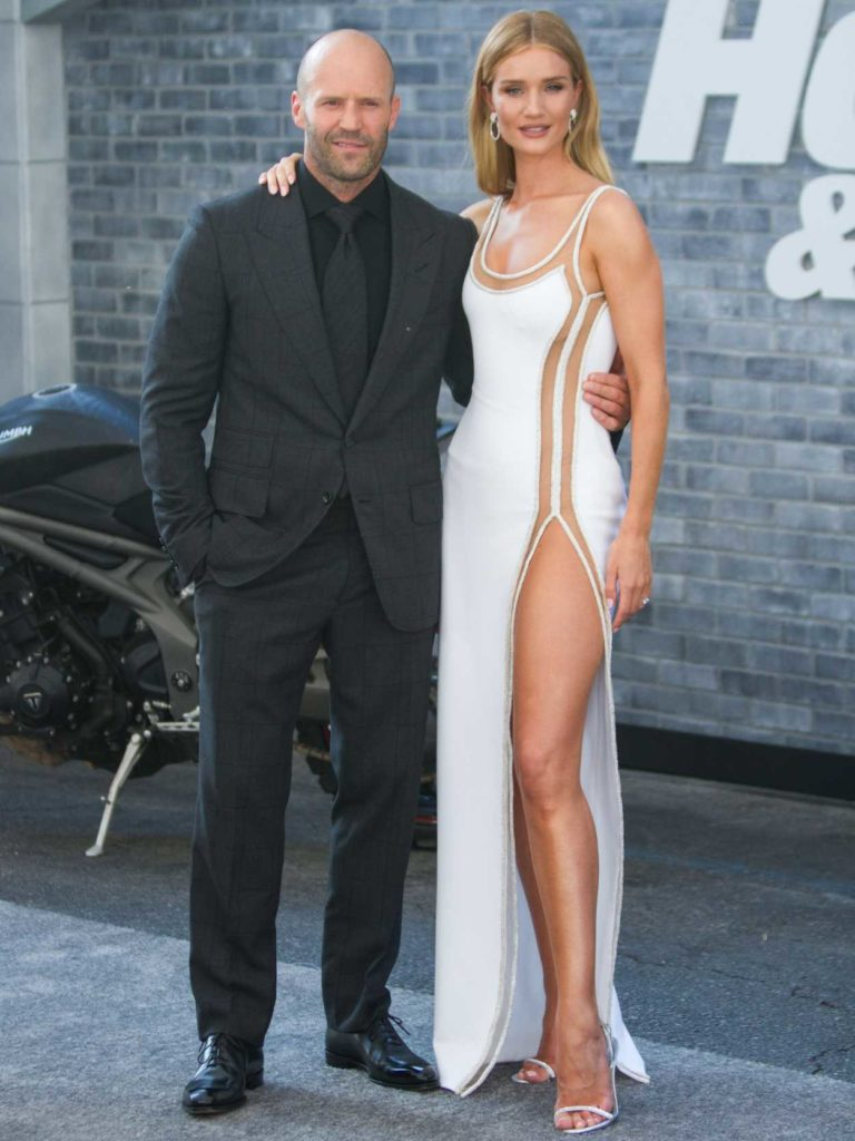 Rosie Huntington Whiteley Attends Hobbs And Shaw World