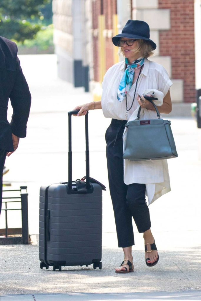 Naomi Watts in a White Blouse