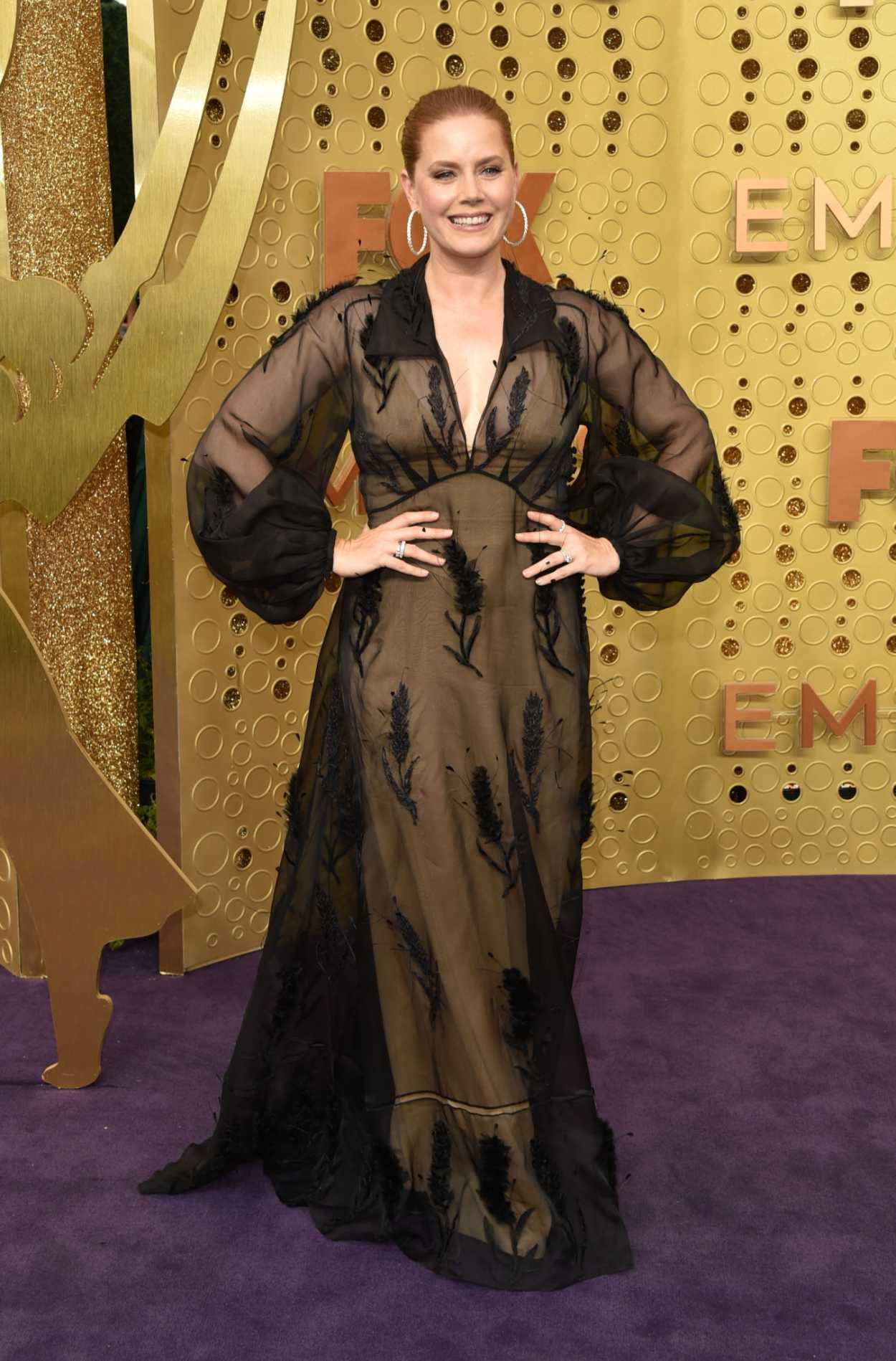 Amy Adams Attends the 71st Emmy Awards at Microsoft ...