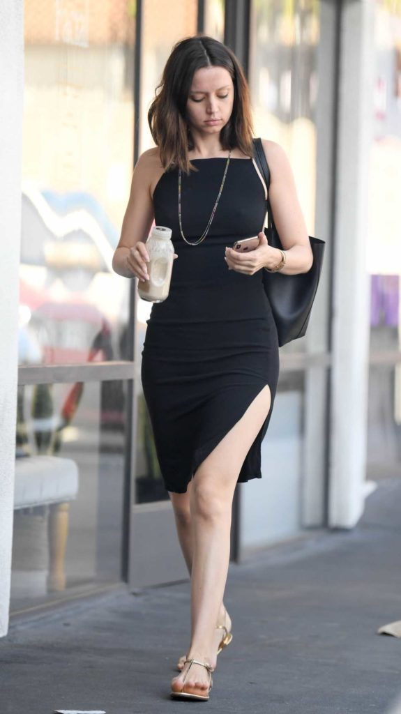 Ana de Armas in a Black Dress