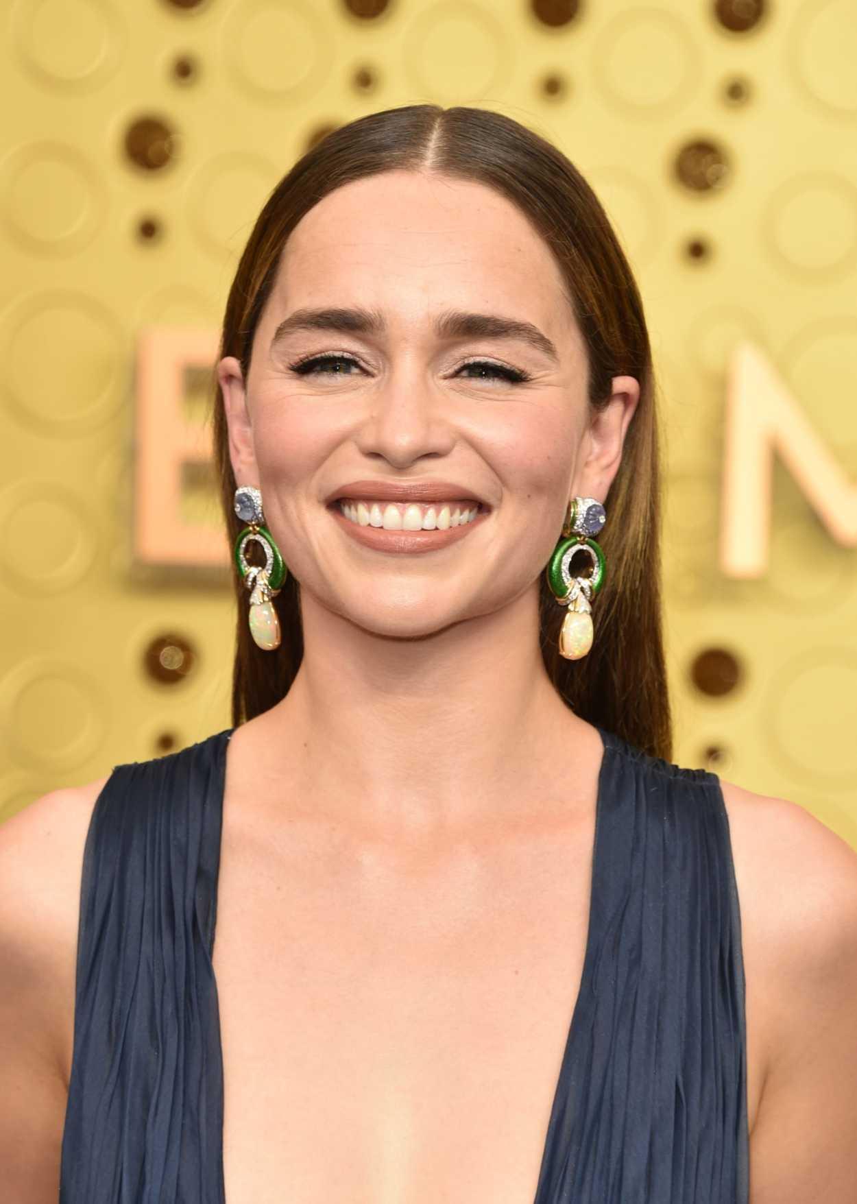 Emilia Clarke Attends The Emmy Awards Microsoft