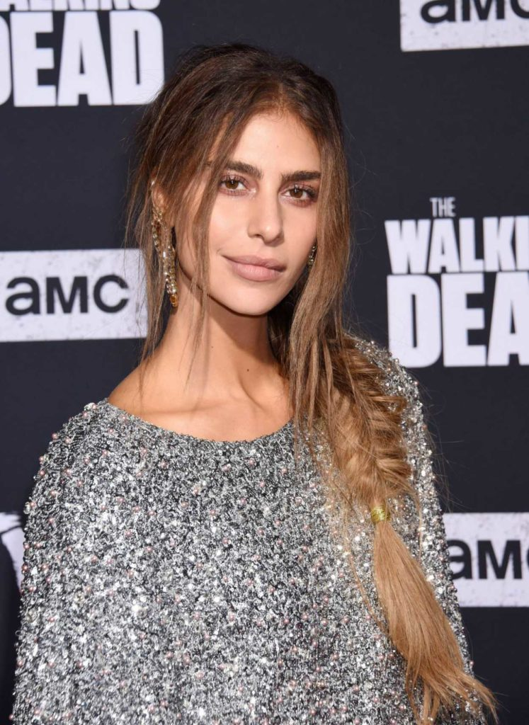 Nadia Hilker Attends The Walking Dead Premiere and Party