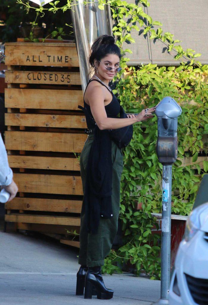Vanessa Hudgens in a Black Top