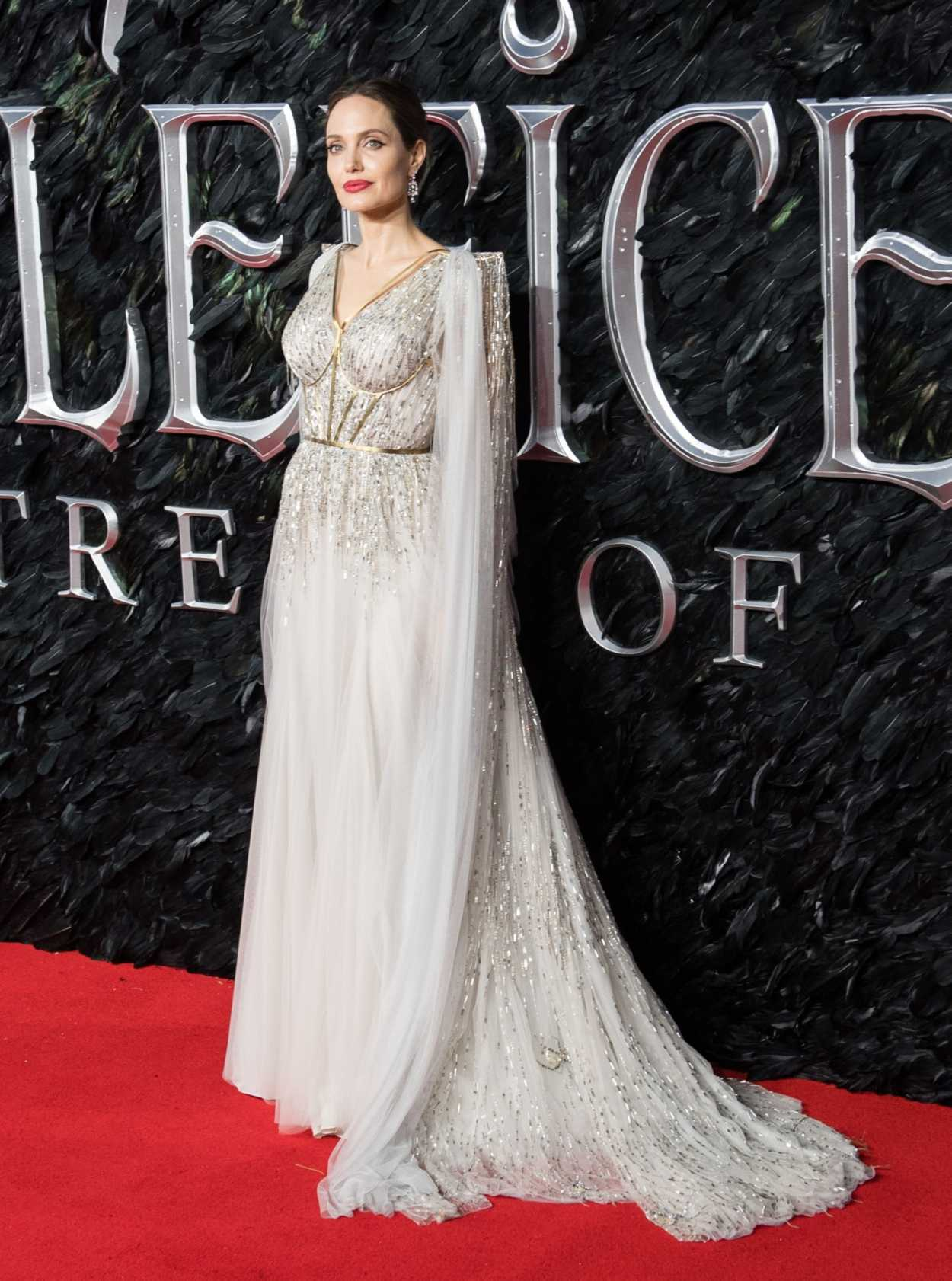 Angelina Jolie Attends The Maleficent Mistress Of Evil