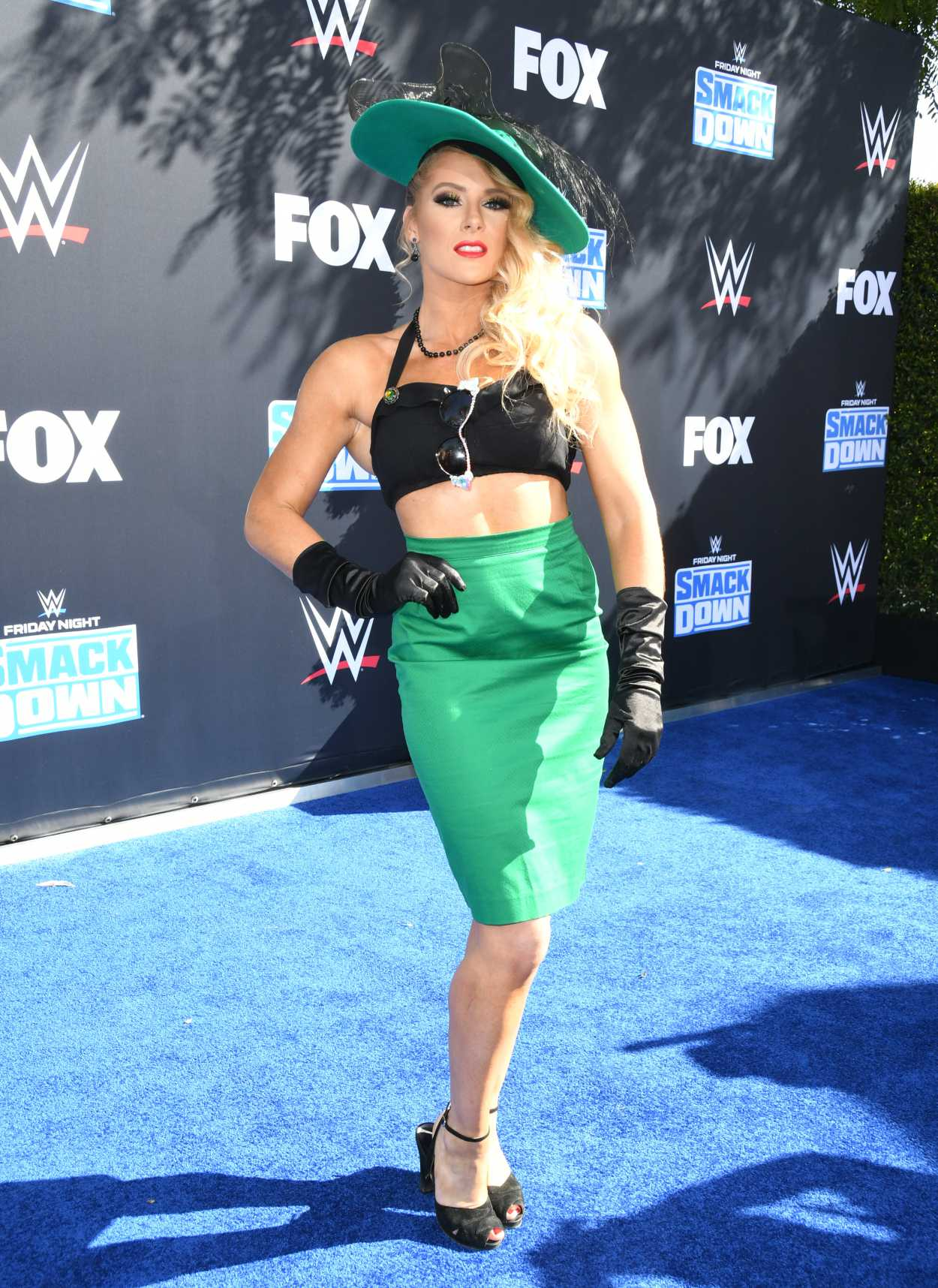 Lacey Evans Attends the WWE 20th Anniversary Celebration ...