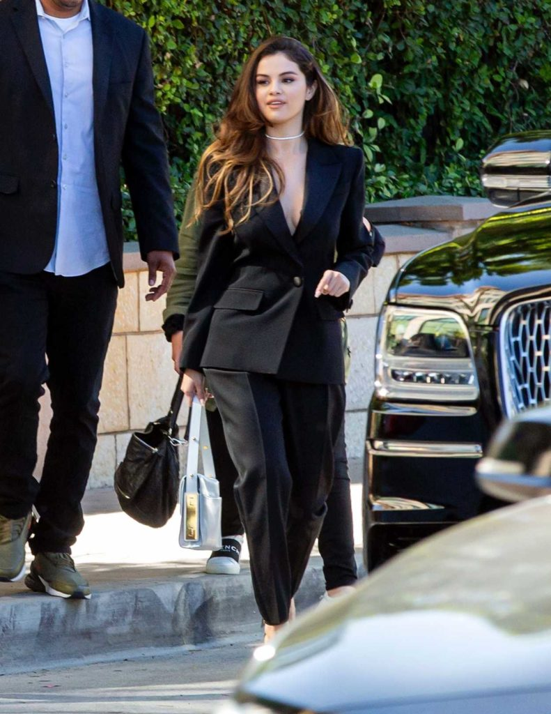Selena Gomez in a Black Blazer