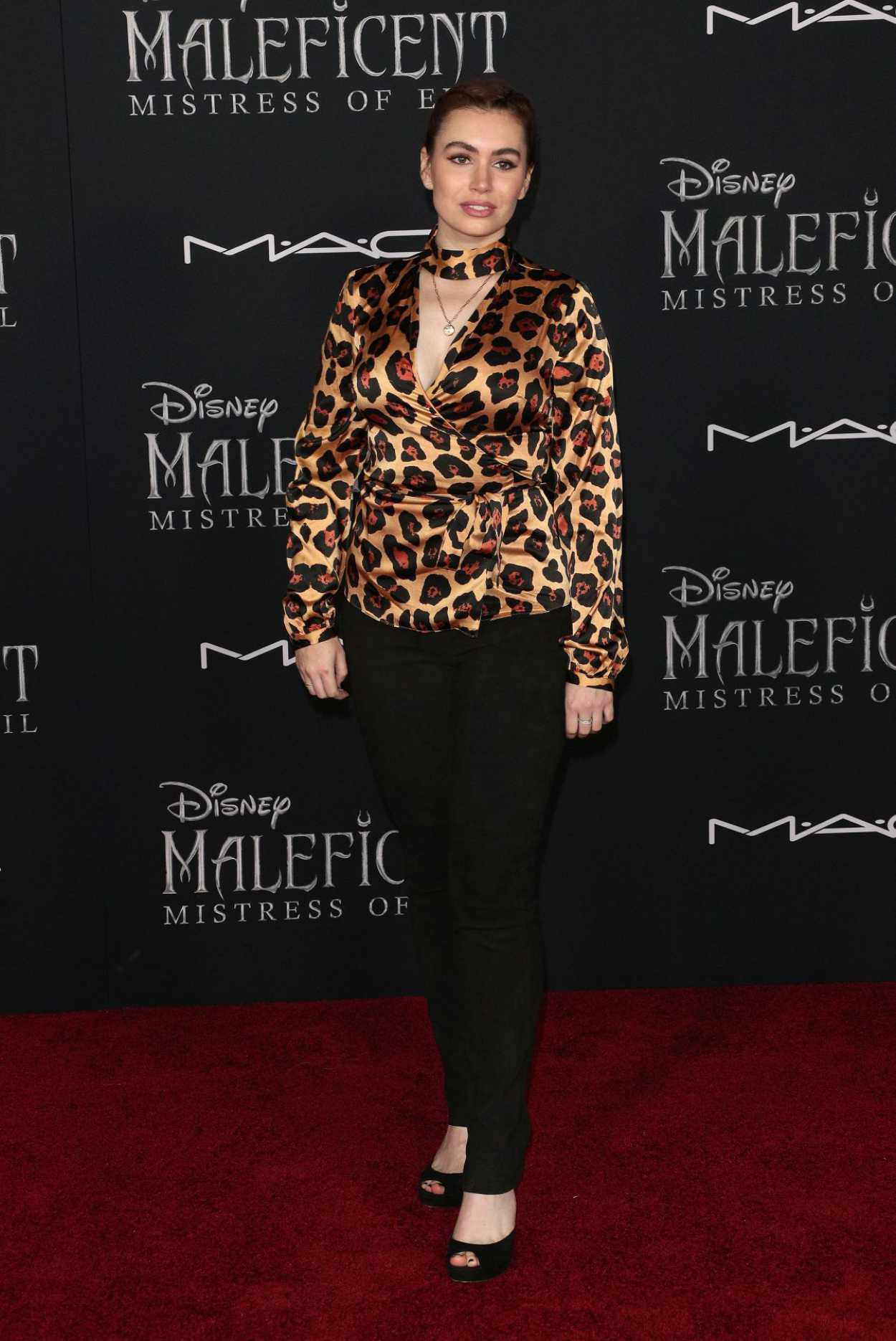 Sophie Simmons Attends The Maleficent Mistress Of Evi