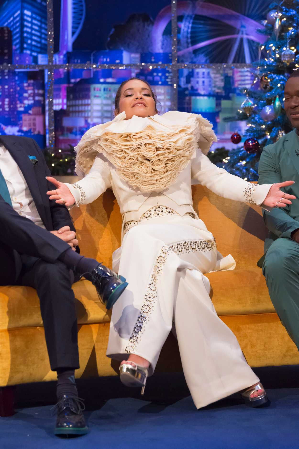 Rita Ora Attends The Jonathan Ross Show London