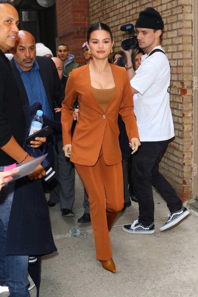 Selena Gomez in an Orange Suit