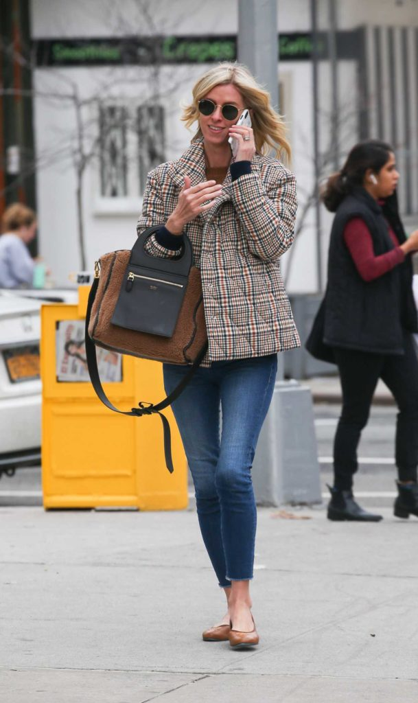 Nicky Hilton in a Blue Jeans