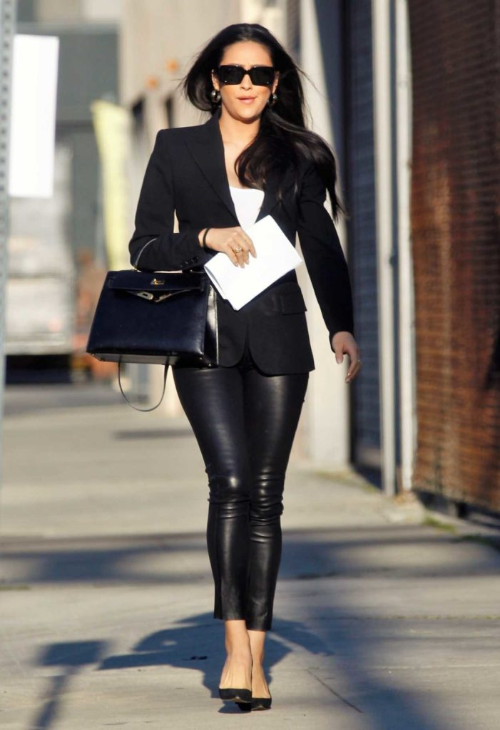 Shay Mitchell in a Black Blazer