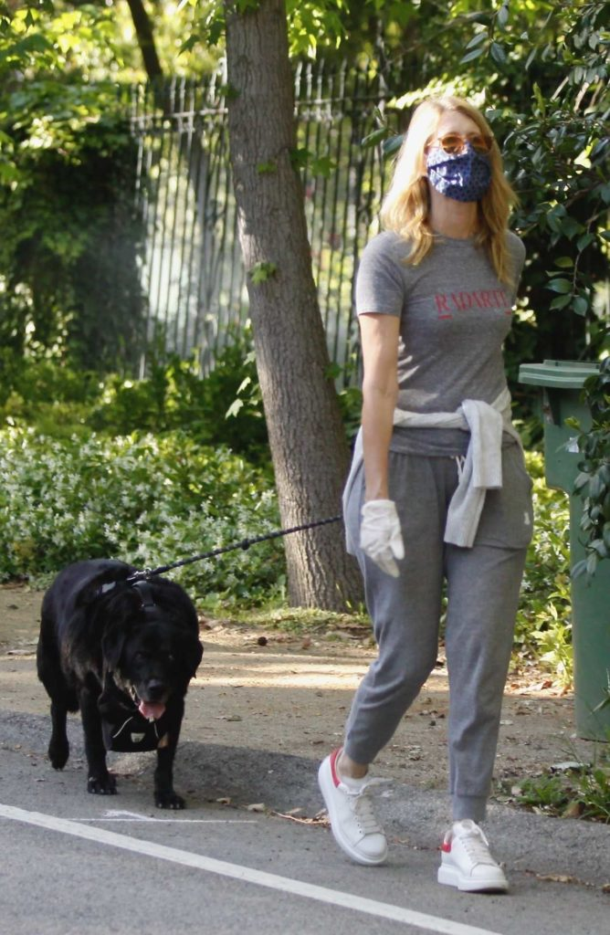 Laura Dern in a White Sneakers