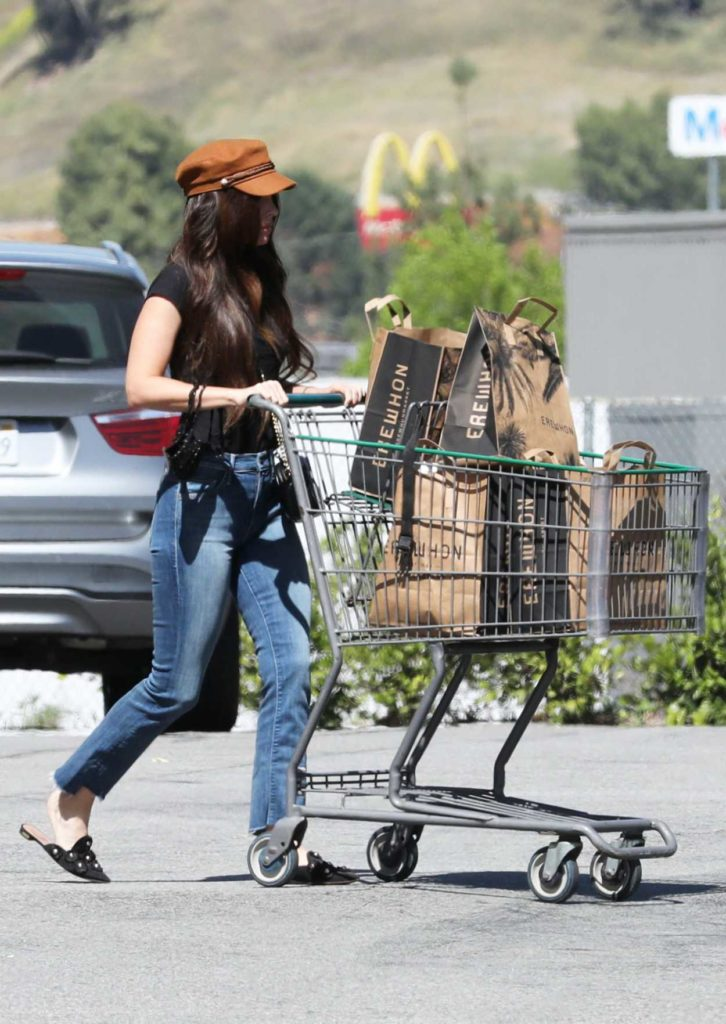 Megan Fox in a Black Tee