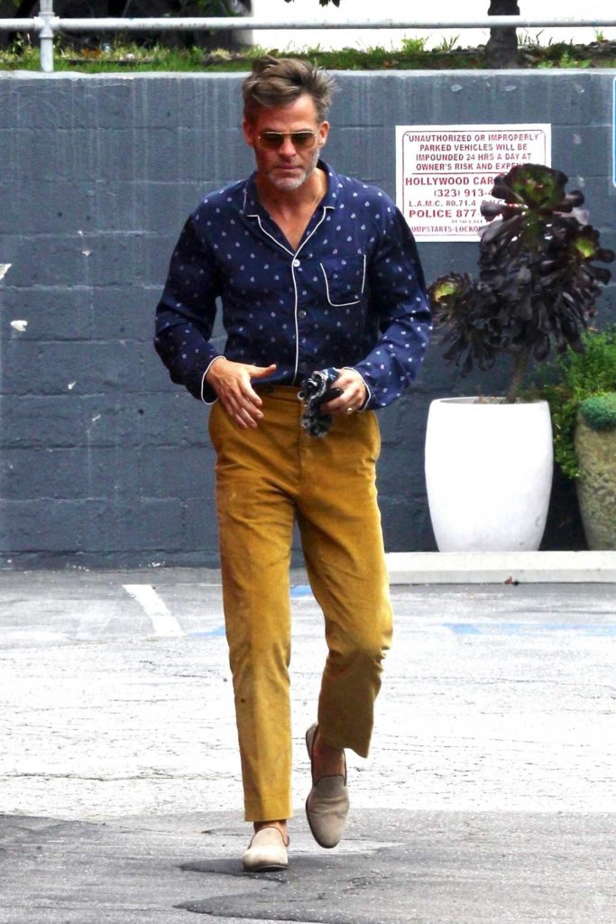 Chris Pine in a Yellow Pants