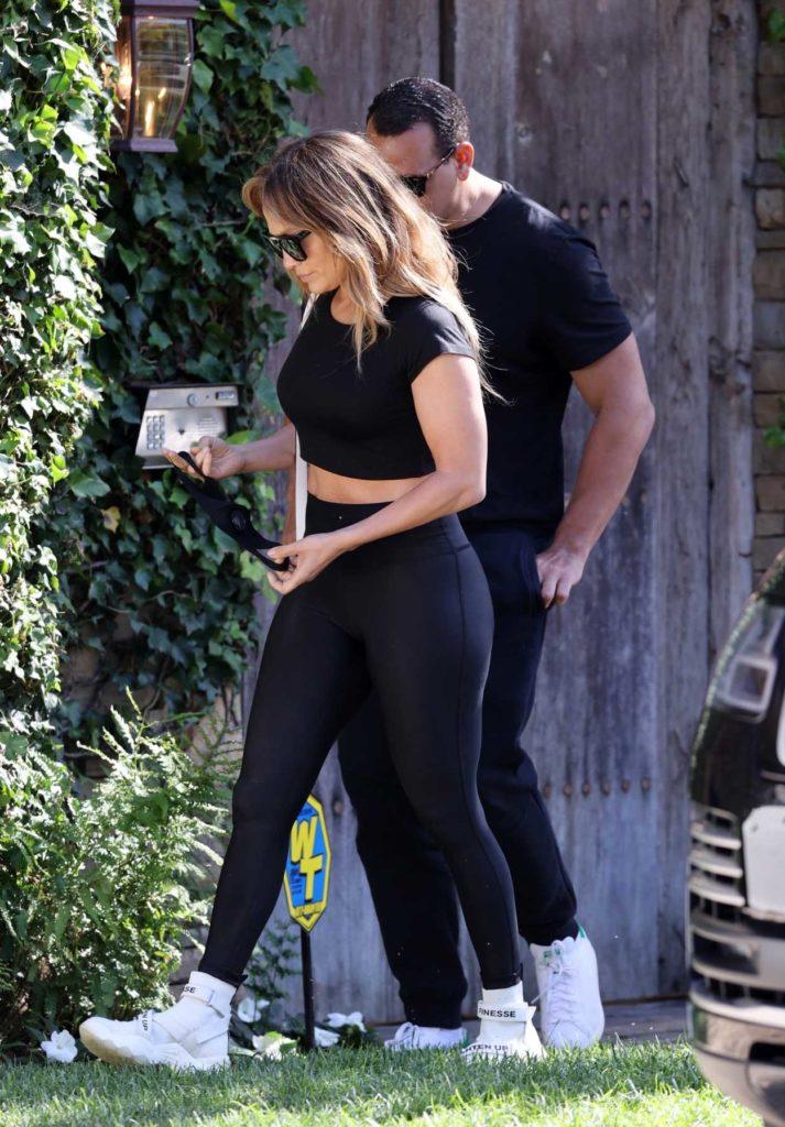 Jennifer Lopez in a Black Top