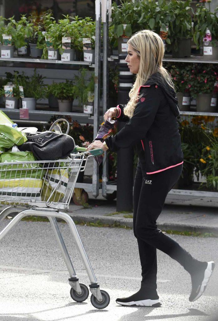 Dawn Ward in a Black Track Jacket