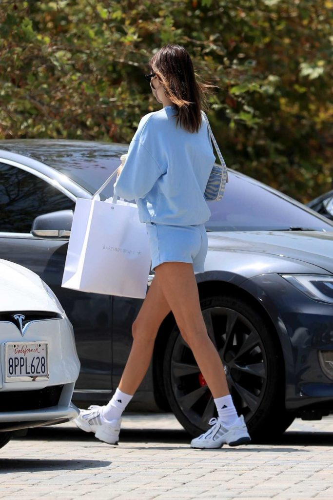 Kendall Jenner in a White Sneakers