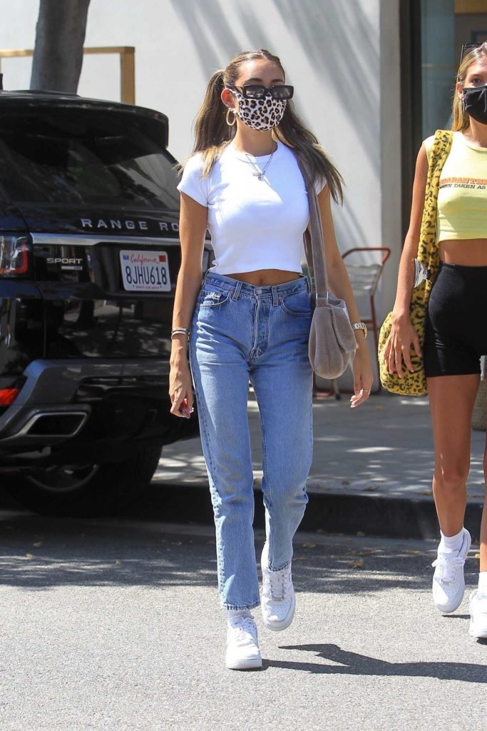 Madison Beer in a White Top