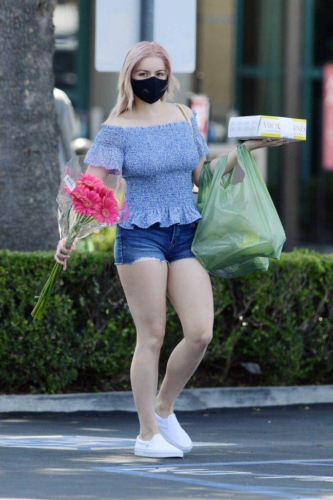 Ariel Winter in a Daisy Duke Shorts