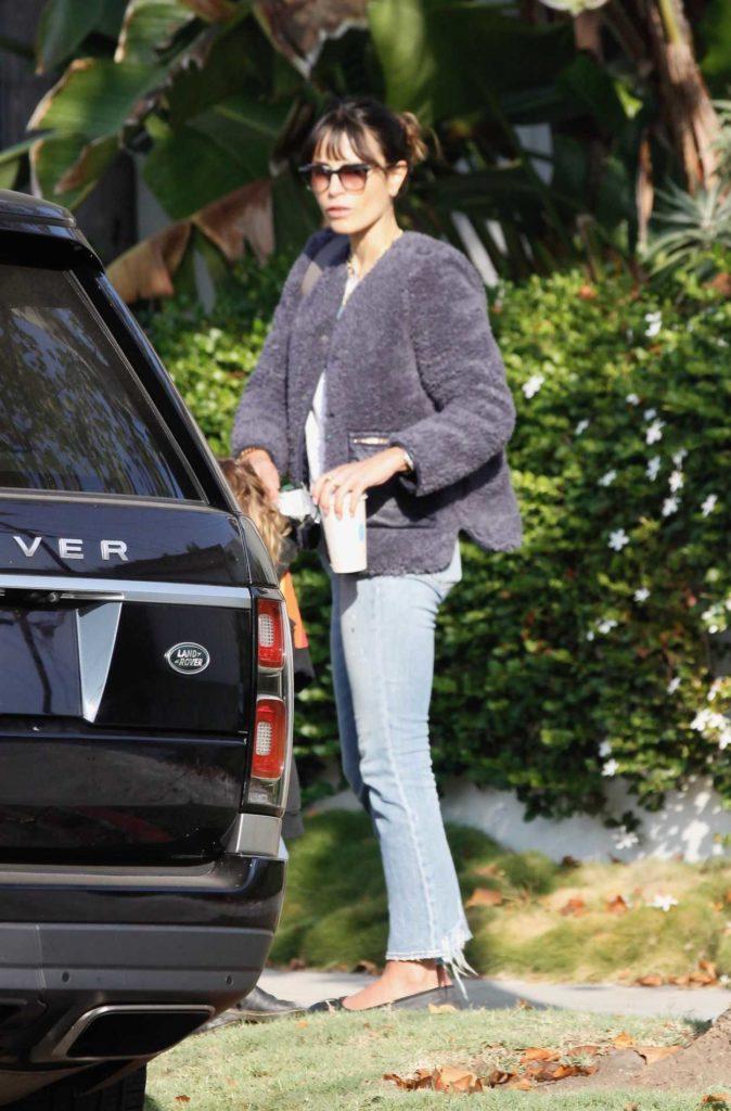 Jordana Brewster in a Blue Jeans