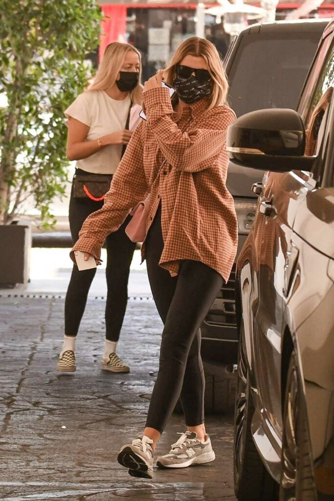 Sofia Richie in a Protective Mask