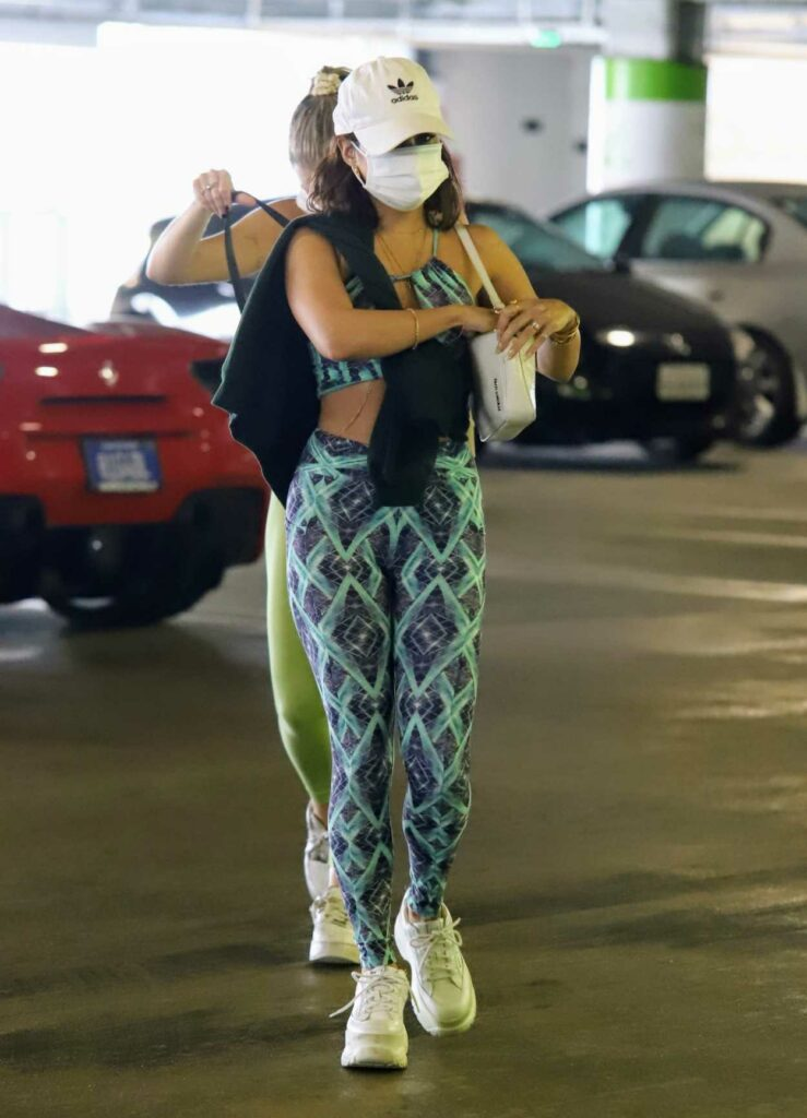 Vanessa Hudgens in a White Adidas Cap