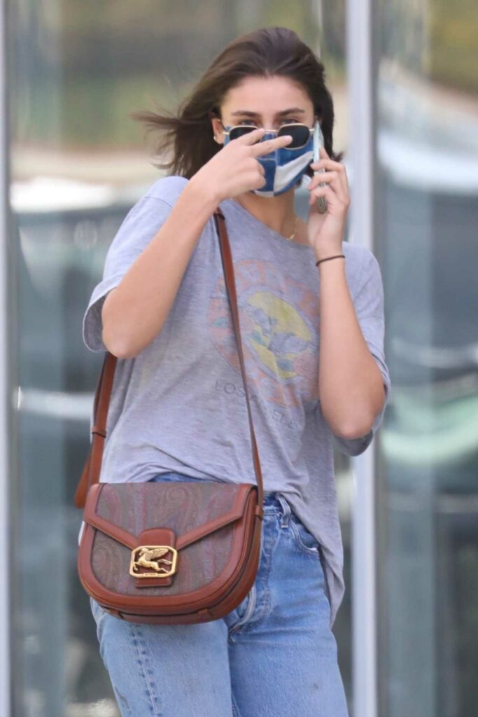 Taylor Hill in a Grey Tee