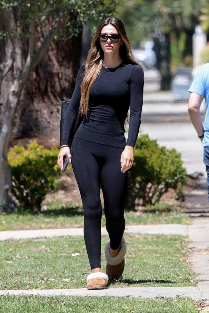 Amelia Gray Hamlin in a Black Outfit