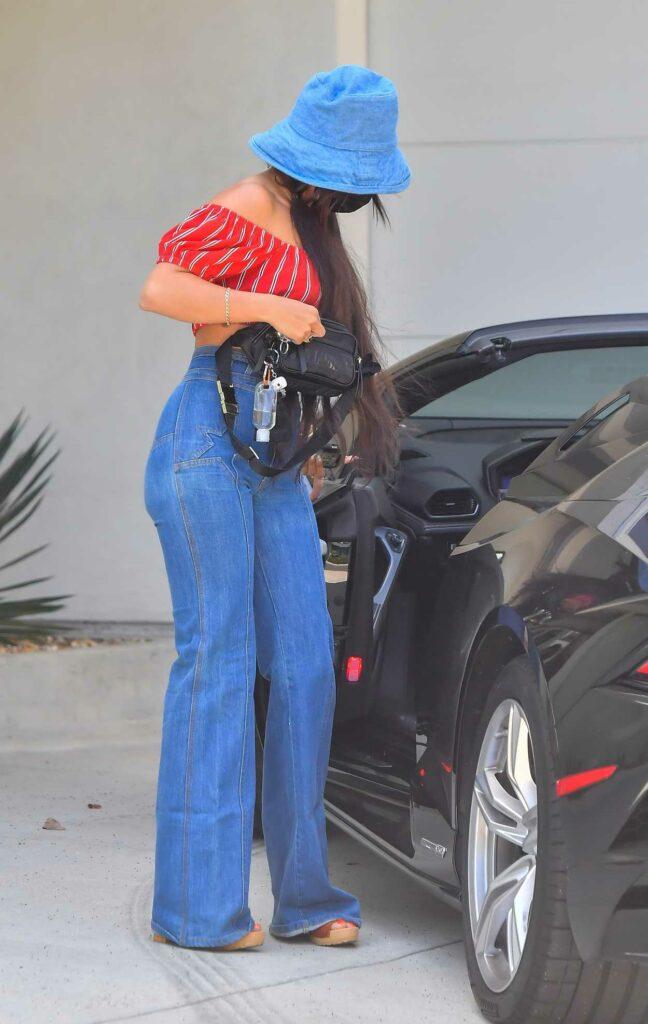 Vanessa Hudgens in a Red Top