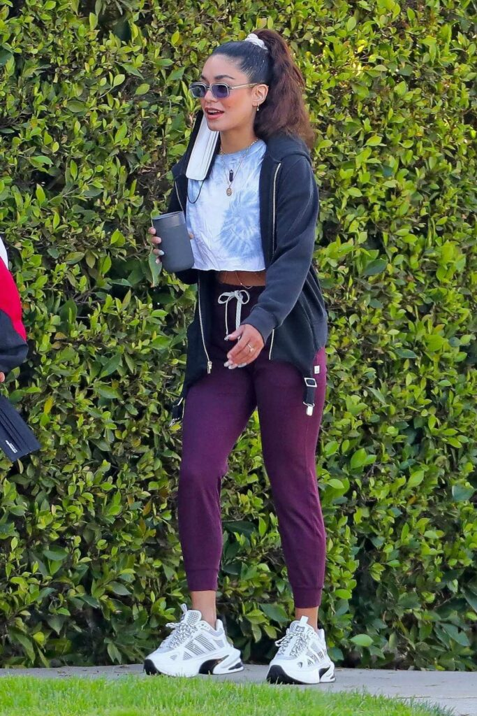 Vanessa Hudgens in a White Sneakers