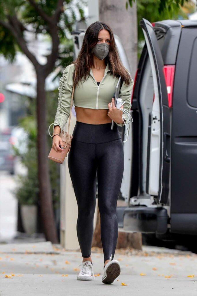 Eiza Gonzalez in a Black Leggings