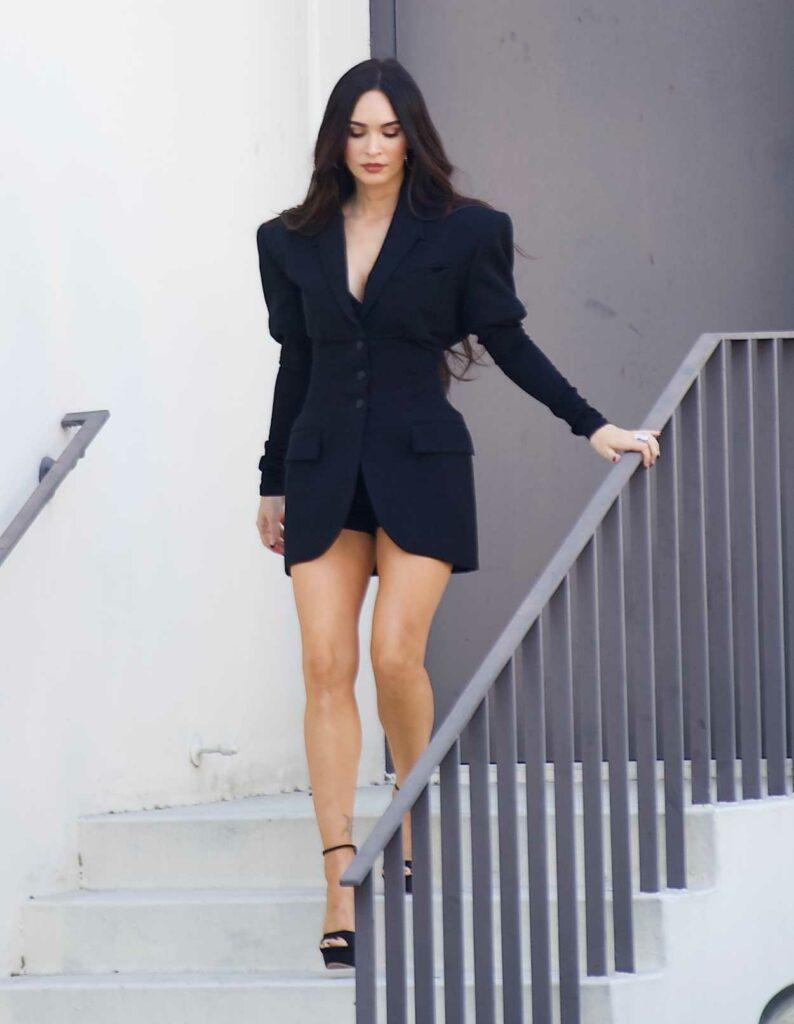 Megan Fox in a Black Blazer