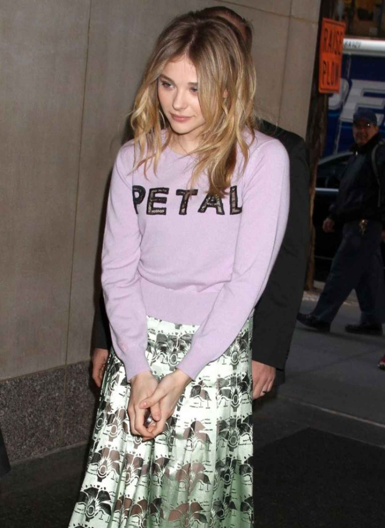 Chloe Moretz - Visits The Today Show in New York City - April 2015-1