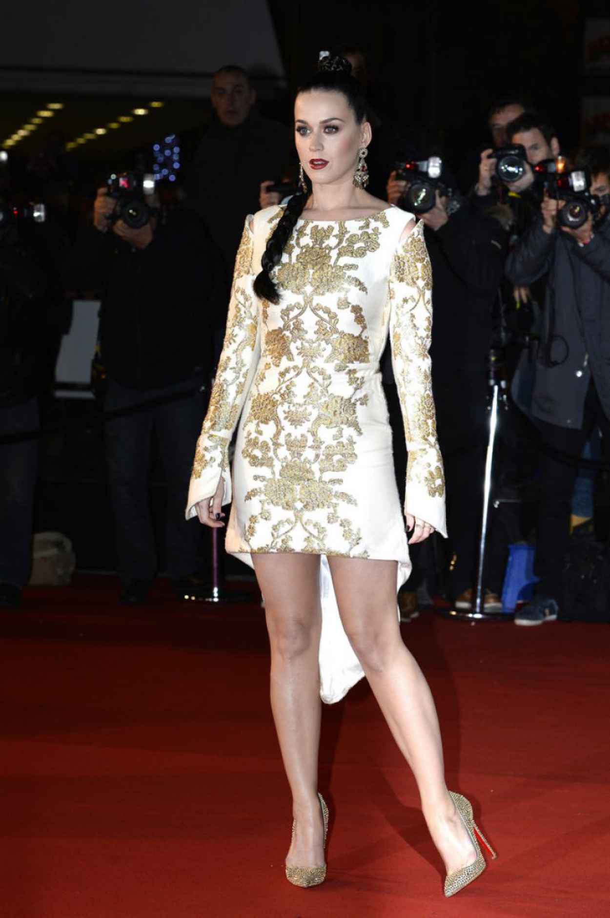 Katy Perry Cannes Red Carpet - 15th NRJ Music Awards - December 2015-1