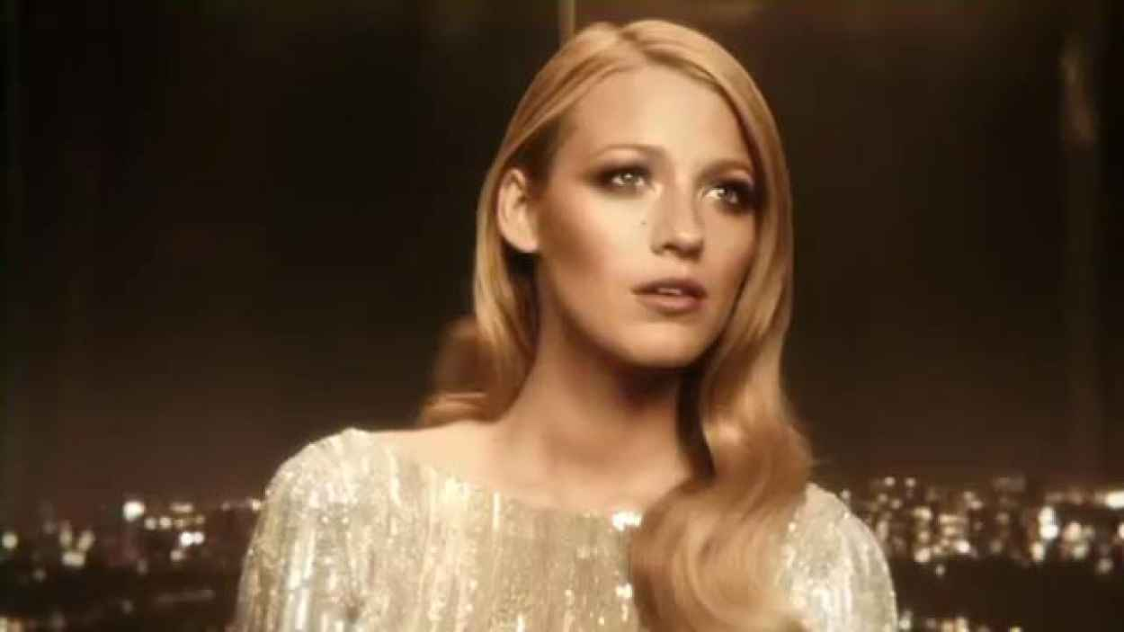 Blake Lively - Gucci Perfume - Video-1