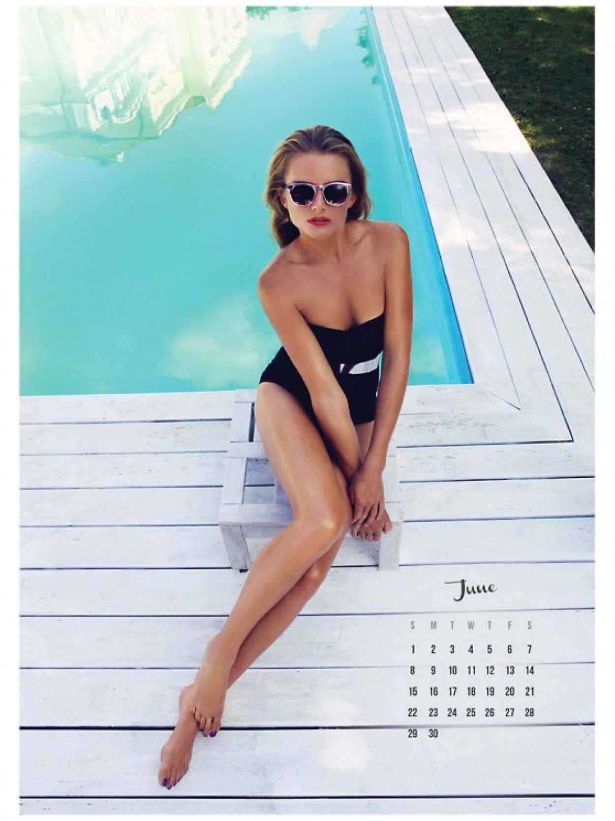 Daniela Hantuchova - 2015 Calendar Preview-1