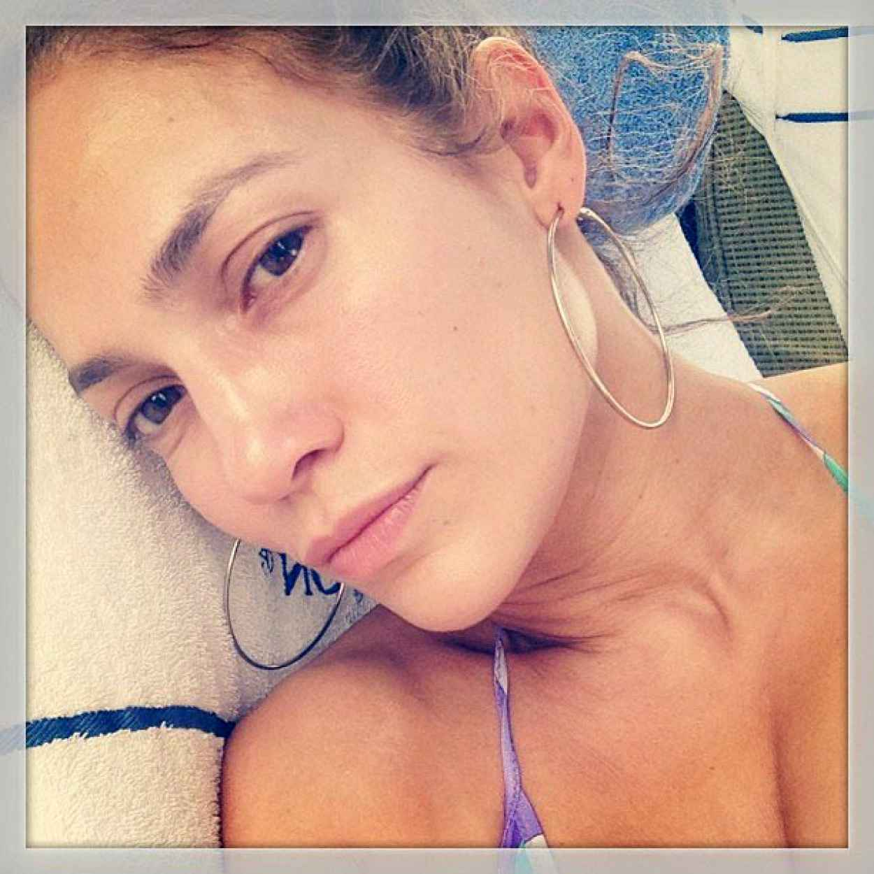 Jennifer Lopez in a Bikini - Instagram Photos - June 2015-1