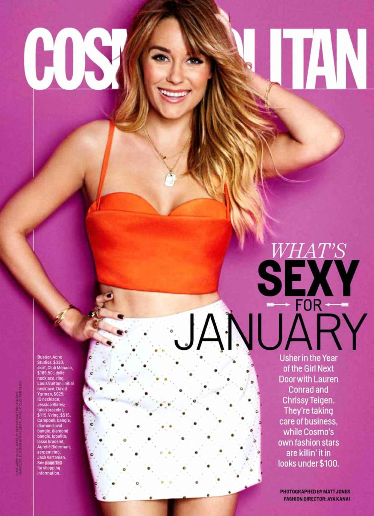 Lauren Conrad - Cosmopolitan Magazine (USA) - January 2015 Issue-1
