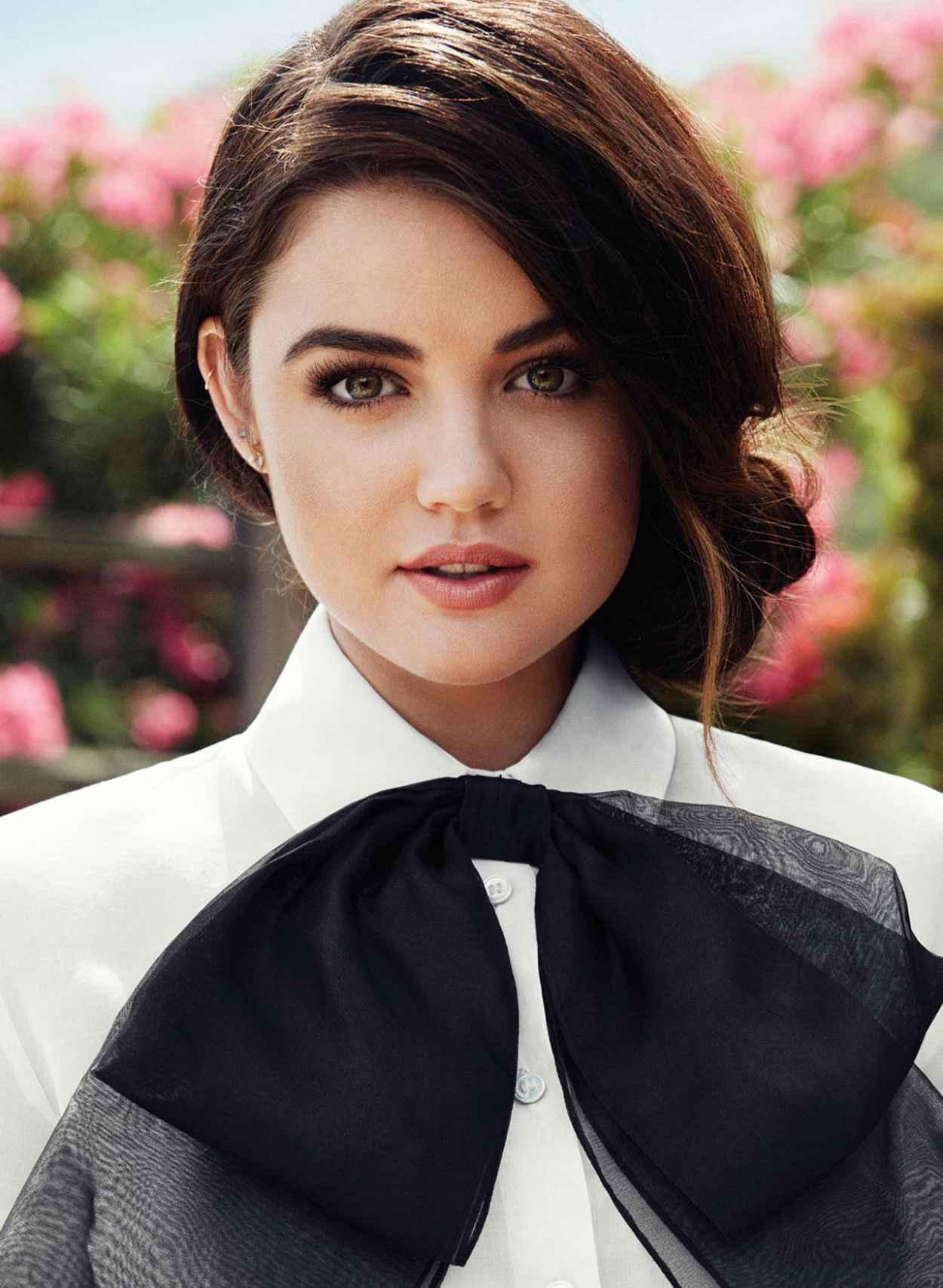 Lucy Hale - Flare Music Magazine Photoshoot 2015-1